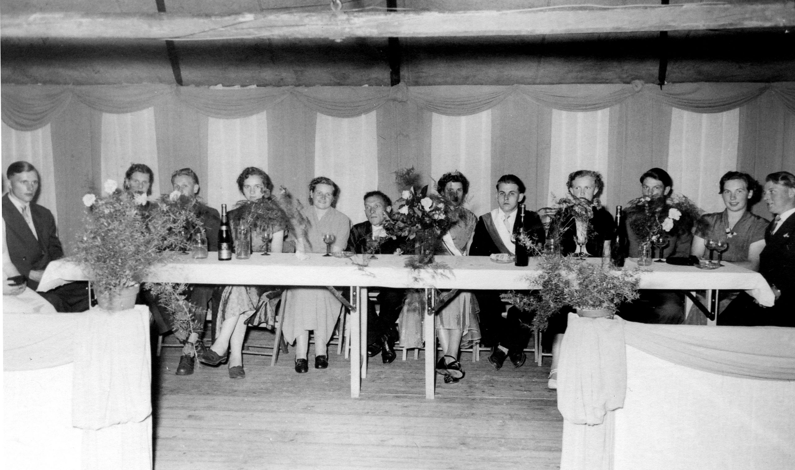 Throngesellschaft 1954