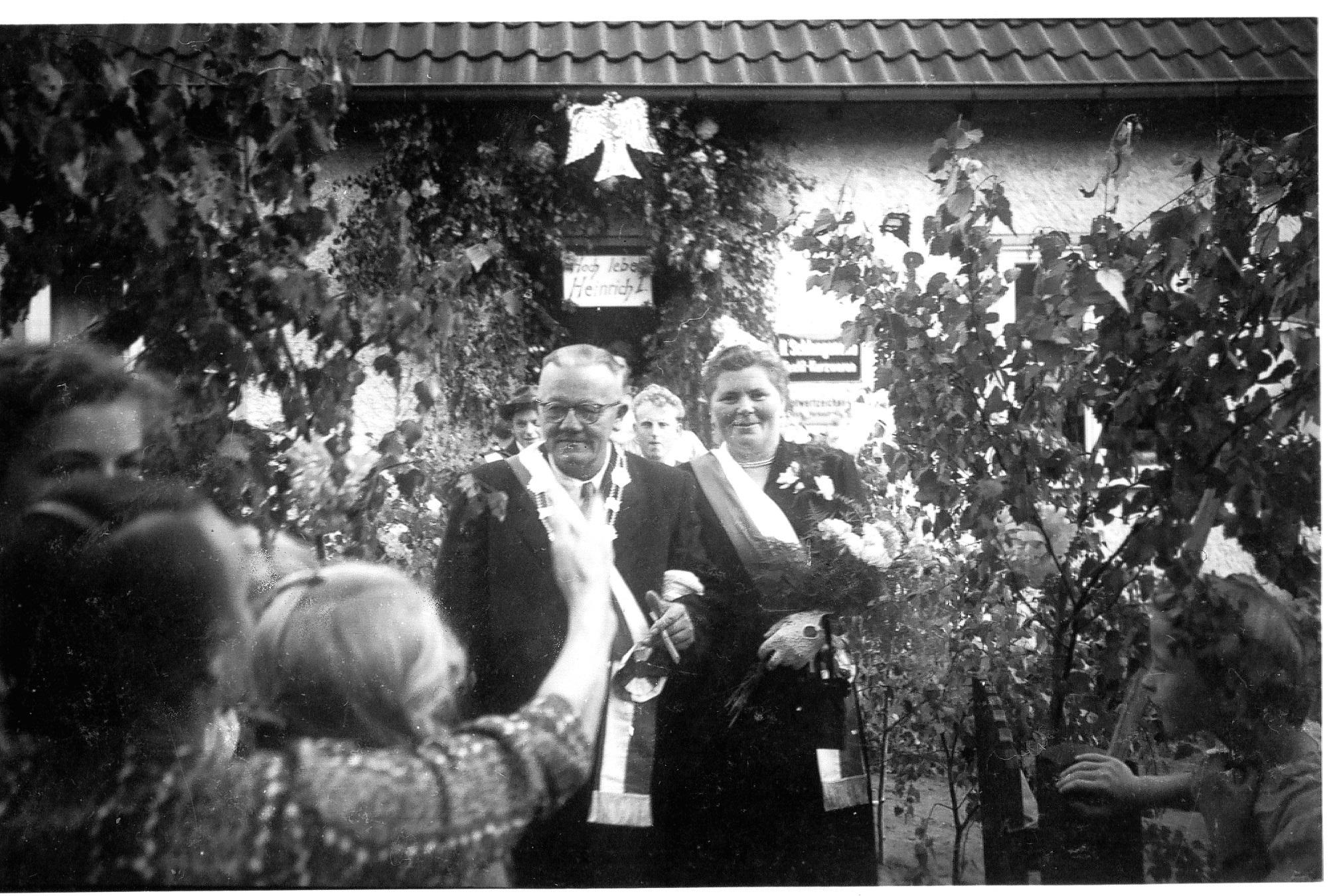 Königspaar Heinrich Schlangenotto und Margarete Stickling
