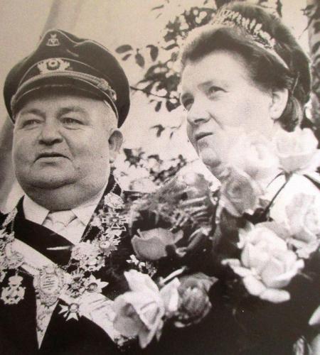 Goldkönigsspaar Franziska und Josef Lange ( Verstorben )