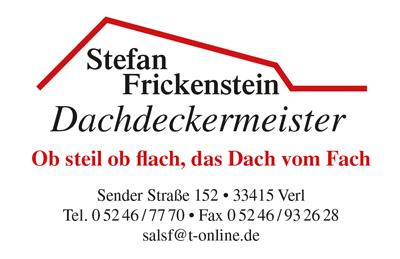 Frickenstein-Dachdecker